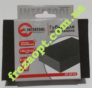 Губка для шлифования InterTool HT-0918 (K180)
