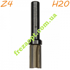 Кромочная фреза Глобус® 1021 Z4 D12 h20 d8 L59.5