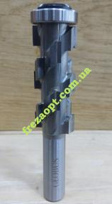 Прямая кромочная кукурузоподобная фреза Globus 1020 Z6 D21 H50 d12 L99