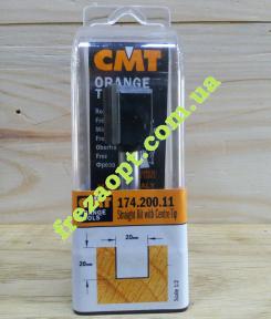 Погружная пальчиковая фреза CMT 174.200.11 (20x20x8x70) Z2+1