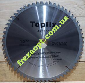 Диск по дереву Topfix 254x2,8x1,8x30 Z60