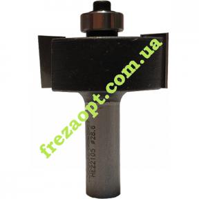 Четвертная фреза WoodPecker HE22105 (28,6x12x8x47)