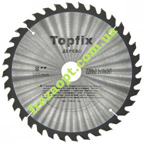 Дисковая пила Topfix Ø200*2.2*1.6*Ø30 Z36 (Универсальное пиление)