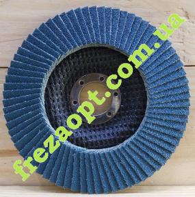 Лепестковый шлифовальный круг Зенит 125,0 P60 Zirconia