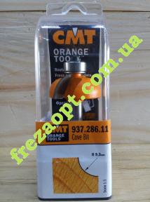Кромочная радиусная фреза CMT 937.286.11 R9,5 (31,7x12,7x8x54)