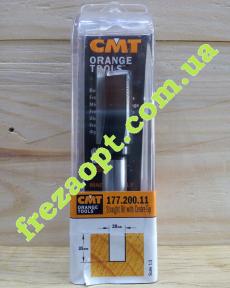 Прямая пазовая фреза CMT 177.200.11 (Ø20x35xØ12x90) Z2+1