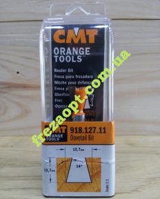 Фреза под соединение ласточкин хвост CMT 918.127.11 14 (12,7x12,7x8x52)