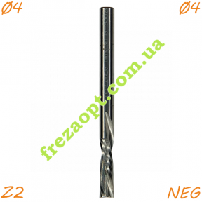 Фреза CMT 192.040.11 Z2 (4x15x4x50) Negativ