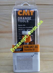Концевая радиусная фреза CMT 938.147.11 R1 (14,7x10x8x51)