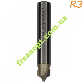 Фреза Глобус® 2053F R3 (Ø1.5*Ø7.5*6*Ø8*46)