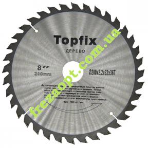 Дисковая пила Topfix Ø200*2.2*1.6*Ø32 Z36 (Универсальное пиление)