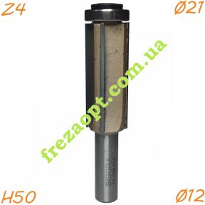 Прямая кромочная фреза Sekira 22-024-215 Z4 (Ø21x50xØ12x99)