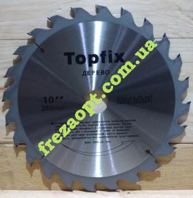 Пила по дереву Topfix 250x2,8x1,8x32 Z24