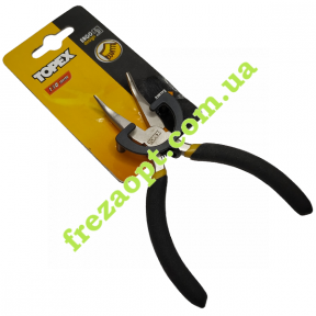 Изогнутые тонкогубцы (утконосы) Topex 32D723