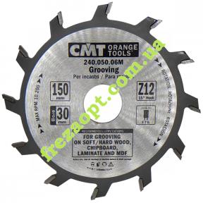 Дисковая пазовая пила CMT 240.050.06M (150x30x3,0x5,0) Z12
