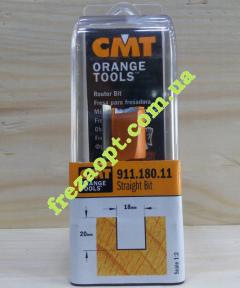 Пальчиковая фреза CMT 911.180.11 (Ø18x20xØ8x52)