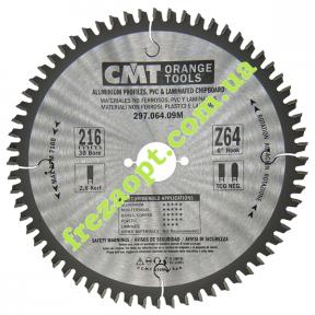 Пильный диск CMT 297.064.09M (216x30x2,8x2,2) 64Z