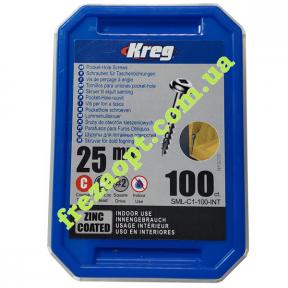 Саморезы KREG® SML-C1-100 (25,4мм) 100шт