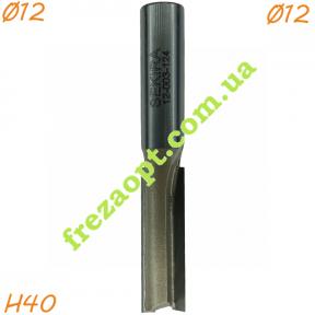 Пальчиковая фреза по дереву Sekira 12-003-124 (Ø12*40*Ø12) Z2