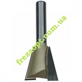 Фреза ласточкин хвост Глобус® 1006 D25 h25 d8
