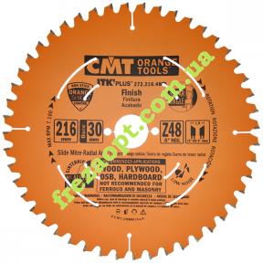 Пильный диск CMT 272.216.48M (Ø216xØ30x1,8x1,1) 48Z