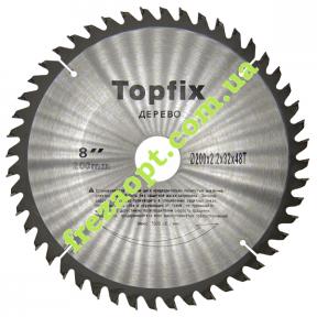 Дисковая пила Topfix Ø200*2.2*1.6*Ø32 Z48 (Поперечное пиление)