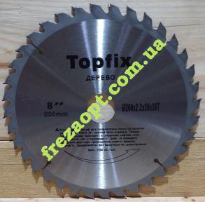 Диск по дереву Topfix 200x2,2x1,5x30 Z36