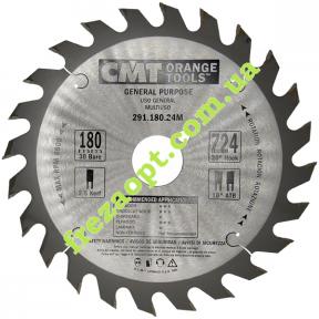 Пильный диск CMT 291.180.24M (180x30x2,6x1,6) 24Z