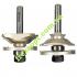 Комплект фрез для мебельной обвязки Sekira 18-234-420 // 3504 set