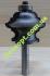 Концевая профильная фреза Globus 2040 D38 H28 d8 L72