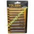 Комплект пробойников для кожи TOLSEN 25093