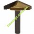 Коническая фреза Easy Tool 1004 135° D40 H12 d8 L48