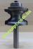 Концевая профильная фреза Globus 2015 R4 D33 H22 d8 L68