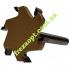 Фреза для слэба Easy Tool Planer Bits Z6 D60 h8 d12 L100