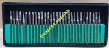 Комплект алмазных шарошек 30шт (Серебро)